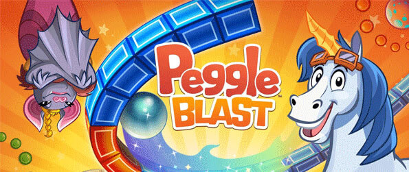 Peggle Blast - The age-old classic puzzle game, Peggle, returns with a blast in Peggle Blast!