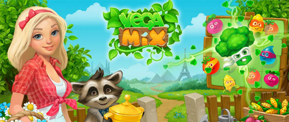 VegaMix - Match 3 or more vegetables to fulfill orders.