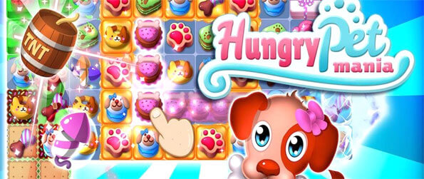 Hungry Pets Mania - Play this innovative match-3 game in which you'll get to rescue many different pets as you progress through the game.