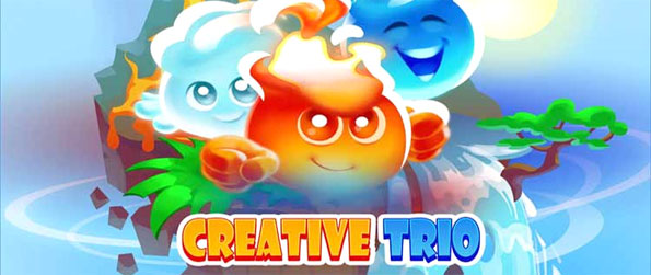Creative Trio - Enjoy this exciting match-3 game that'll have you hooked until you've made it through to the end.