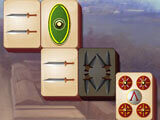 Playing mahjong in Discover Ancient Rome