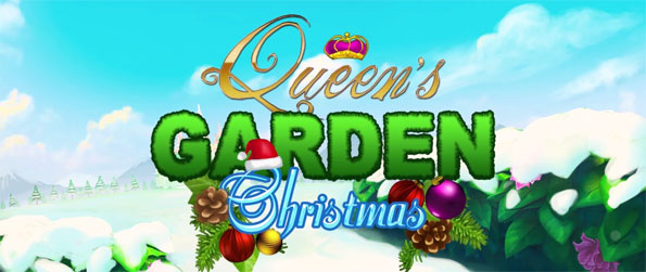 Queen's Garden Christmas - Enjoy this addicting match-3 game that takes place in a highly immersive setting.