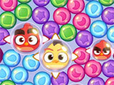 Angry Birds Dream Blast popping bubbles
