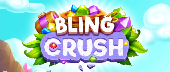 Bling Crush - Enjoy this stellar match-3 game that you can play in the comfort of your mobile device.