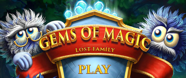 Gems of Magic: Lost Family - Help Fuzzy find and save his family after a hurricane whipped them away into the forest!