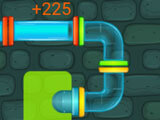 Many different colored pipes with different mechanics