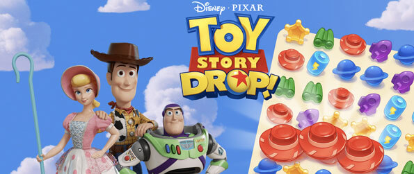 Toy Story Drop! - Help Woody and the gang scramble to clean up Andy's room before he comes back from cowboy camp in Toy Story Drop!