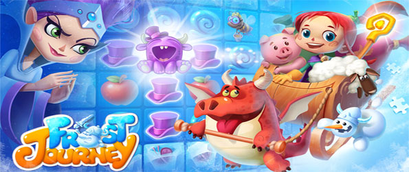 Frost Journey - Enjoy this exceptional match-3 game that'll have you glued to your mobile device for hours upon hours.