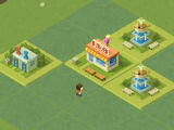 Merging a Burger Shop in 2048 Tycoon: World Theme Park