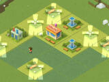 Cleaning the Field in 2048 Tycoon: World Theme Park