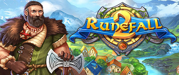 Runefall 2 - Play this captivating match-3 game in which you'll get to embark on a perilous journey across the kingdom of Silverdale.