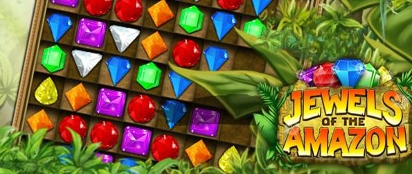 Jewels Amazon - A Unique Twist To The Classic match 3 Game!