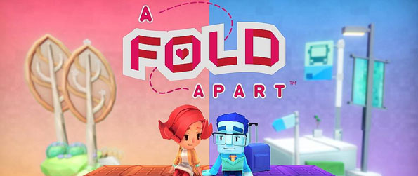 A Fold Apart - Experience the struggle of two young lovebirds who had to keep their relationship alive despite being time zones apart through innovative and unique puzzles in A Fold Apart!