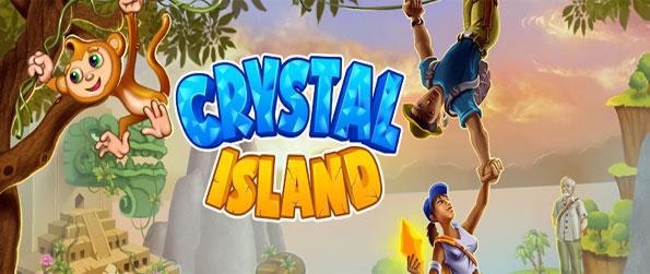 Crystal Island - Match crystals to collect magical amulets in this new Facebook game.