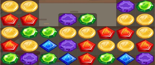 Jewel Story - Become a Jewel Knight and save the world in this amazing match 3 Facebook Game.