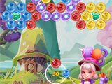 Golden Bubble Shooter challenging level