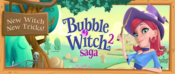 Bubble Witch Saga 2 - Enjoy a stunning match 3 game with all the things you love about the first game, and much more.