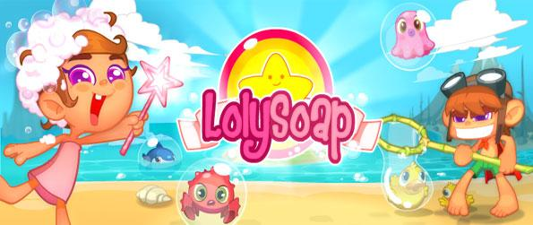 Loly Soap - Enjoy a fun match 3 game on Facebook.