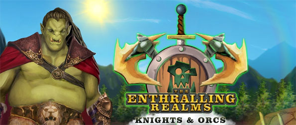 The Enthralling Realms: Knights and Orcs - Enjoy this stellar match-3 game that's quite unlike any other out there.