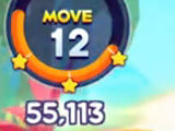 Number of moves in the game