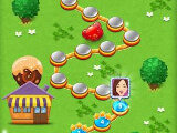 Level selection in Candy Blast: Sugar Mania