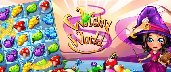 Witchy World - Engage on an amusing and addictive match-3 game with the tinge of sorcery and witchcraft in Witchy World.