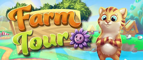 Farm Tour - Collect power ups and reach the goals as quick as you can.