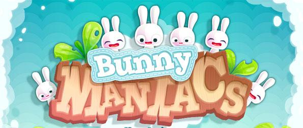 Bunny Maniacs - Take on a new way of playing a Match 3 game.