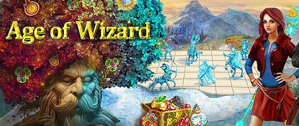 Age of Wizard - Take on the strange and mystical journey of traveling to the Enchanted Realm after a fairy godmother offers the rare and exclusive invitation in this wonderful Match 3 adventure.