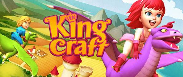 Kingcraft - Candy World - Enjoy a truly unique match-3 experience - that sets you in an epic journey to conquer the surrounding lands towards becoming a king.