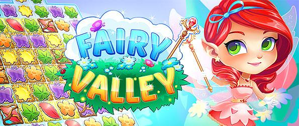 Fairy Valley - Engage on an amusing and addictive match-3 game as it puts you in a fairy fantasy setting while playing its level challenges.