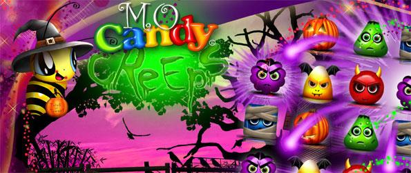 Mo Candy Creeps - Play a cool, Halloween inspired match three game.