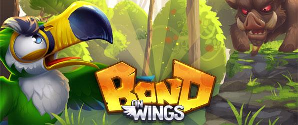 Band on Wings - Build your team and defend the forest against the hogs who kidnap other birds.
