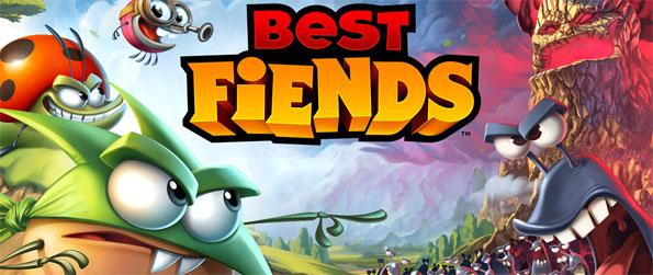 Best Fiends - Set up your own team of critters to take on the bigger, and proportionally nasty, slugs in Best Fiends!