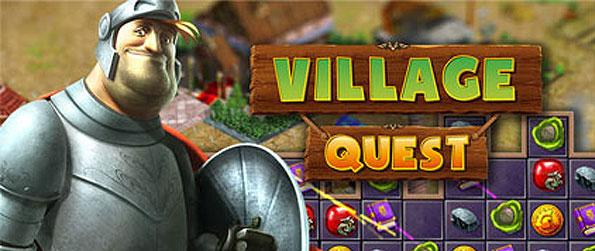 Village Quest - Help a knight manage his newly-acquired land and assist in making it grow to become one of the kingdom's most successful and glorified town, match-3 style.