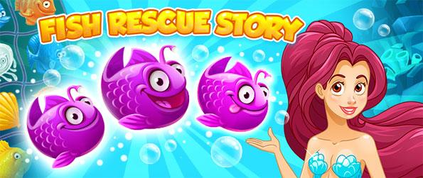 Fish Rescue Story - Play this fun match-3 game that'll keep you entertained for hours upon hours.