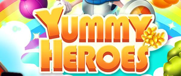 Yummy Heroes - Help out the chef by assisting him in completing his recipes in each level.