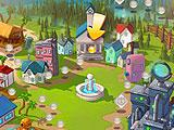 Level Map in Bubble Town Quest
