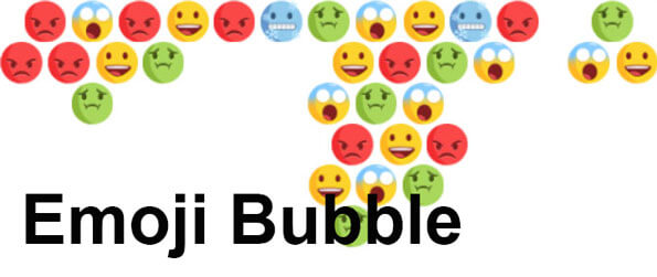 Emoji Bubble - Match 3 or more emojis of the same types to pop them!