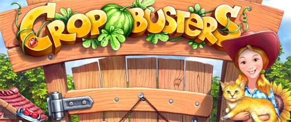 Crop Buster - Play this beautiful match 3 game and build up your perfect farm full of cute animals.
