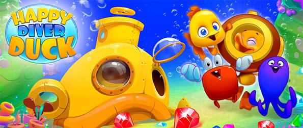 Happy Diver Duck - Play this sensational match-3 game and use your skills to get the highest scores possible.