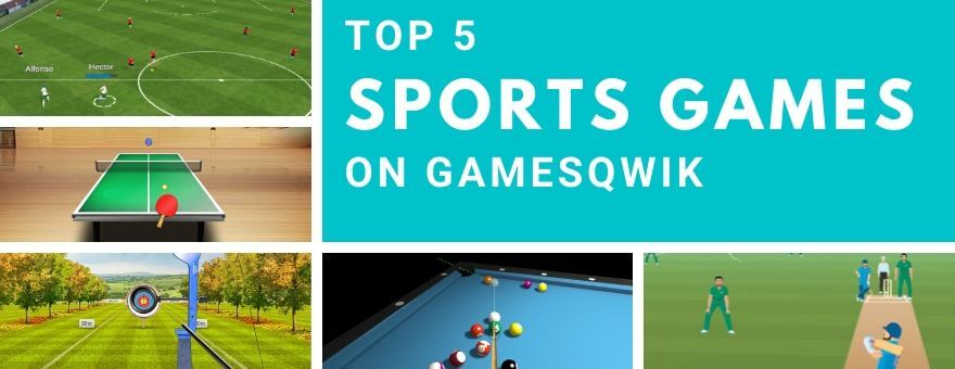 Top 5 Sports Games on Gamesqwik large