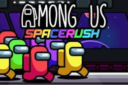 Among Us Space Rush thumb