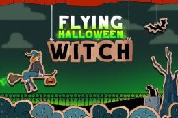 Flying Halloween Witch thumb
