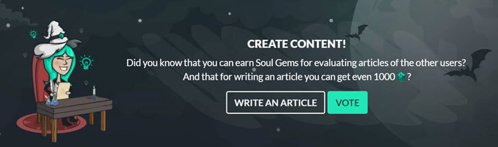 Write content on Gamehag to earn soul gems