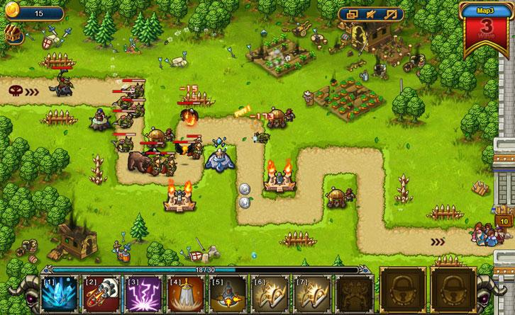 Gameplay in Heroes of the Banner