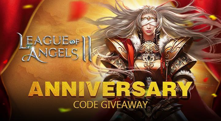 League of Angels 2 Celebrates Its Anniversary with A Giveaway!