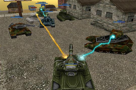 Into the Action in Tanki Online