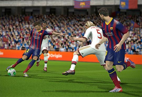 Play with Star Footballers in Fifa World