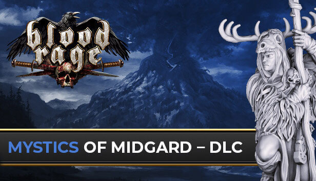 Asmodee Digital Launches Mystics of Midgard DLC, The First Expansion for Its Strategic Viking Game Blood Rage: Digital Edition